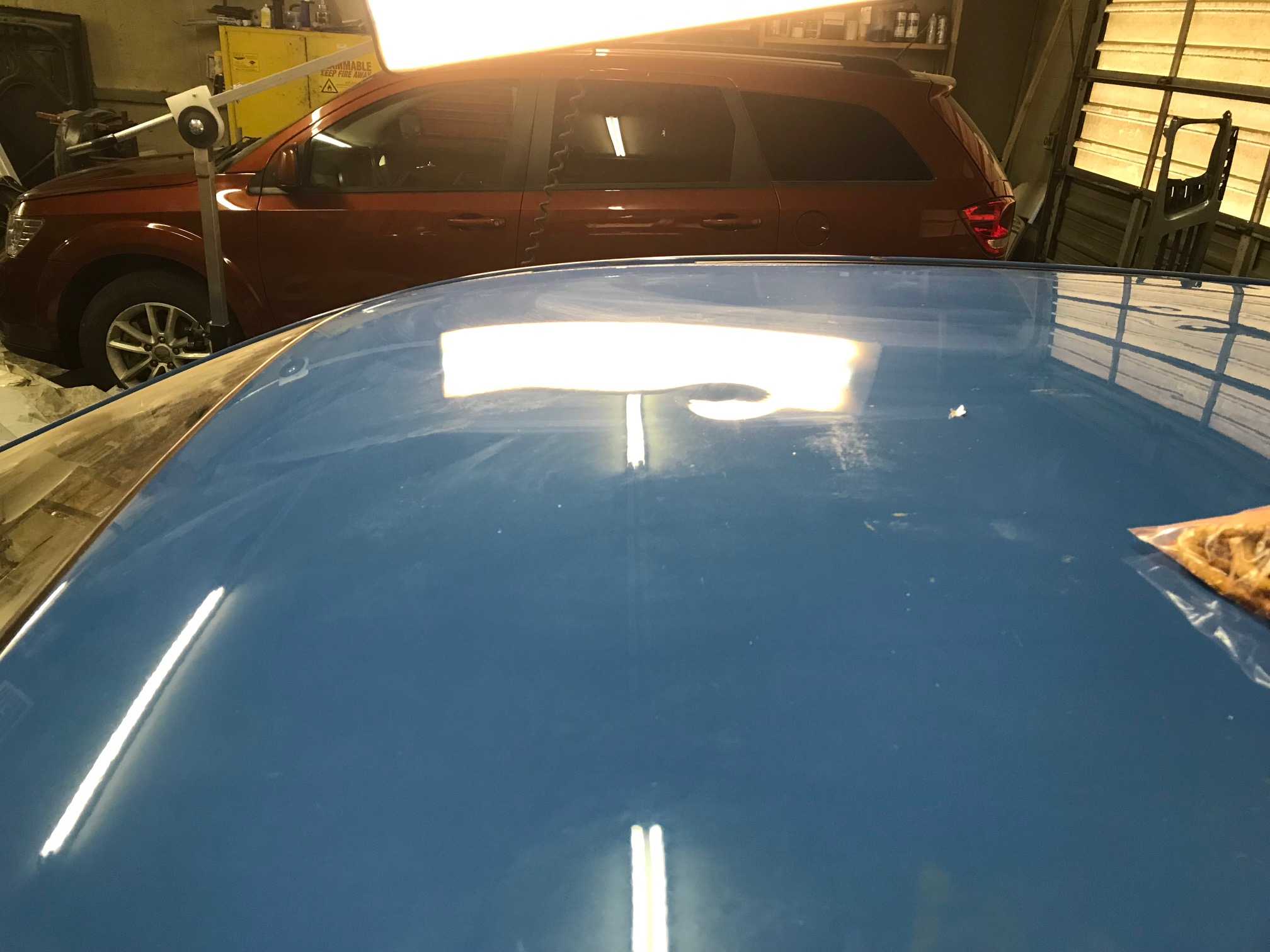 Subaru Hail Damage Repair